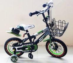 Xe đạp trẻ em Sport 12 inch xanh lính