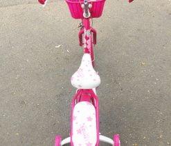 xe đạp mini nữ hồng 16 inch