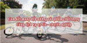 Dịch vụ bán xe đạp tốt nhất