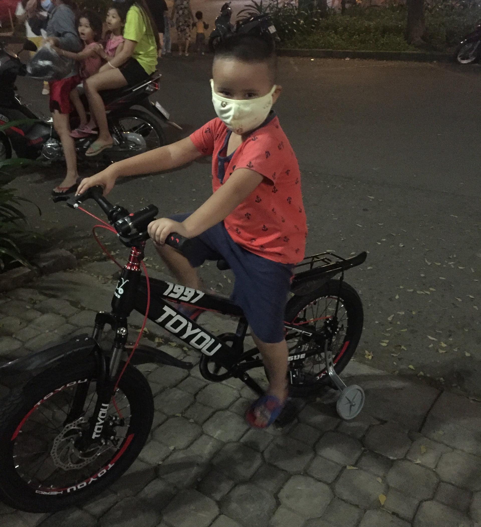 xe đạp địa hình trẻ em 18 inch