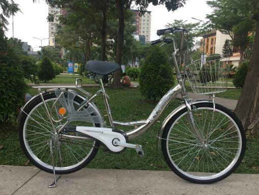 xe đạp mini inox 24 inch