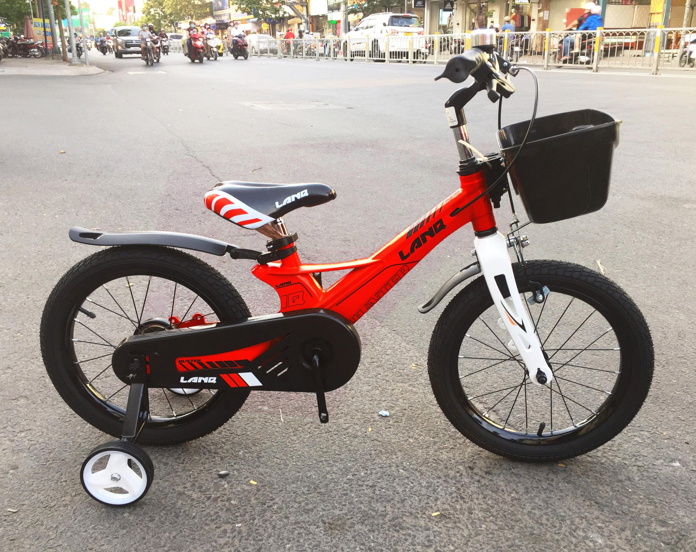 xe đạp trẻ em 16 inch lanq hunter