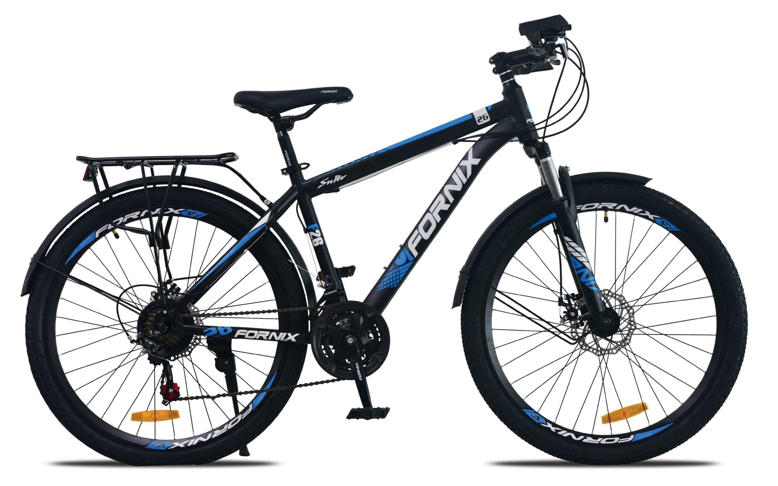 xe đạp thể thao fornix f26 xanh